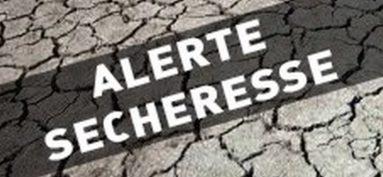 Arrêté sécheresse du 14 septembre 2020 : La commune est en alerte niveau 2
