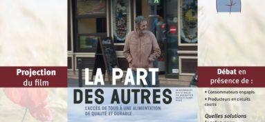 """Cinéma : projection débat """"La Part des autres"""""""